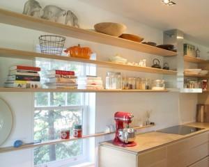 Тонкие кухонные полки
