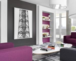 Холодный фиолетово-серый 3