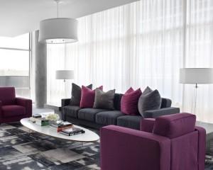 Холодный фиолетово-серый 2