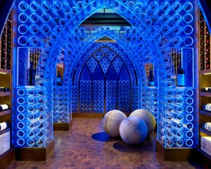 Хранение вина в светодиодном погребе