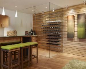 Шкаф для вина в стиле