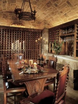 Хранилище вина в деревенском стиле (2)