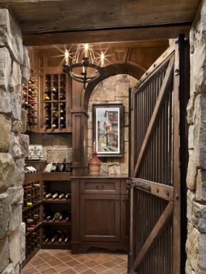 Хранилище вина в деревенском стиле (3)