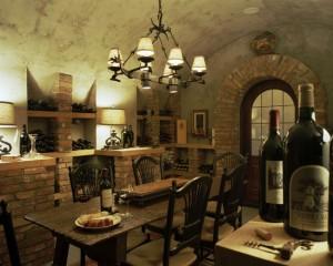 Хранилище вина в деревенском стиле (5)