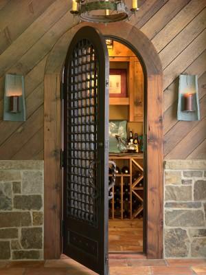 Хранилище вина в деревенском стиле (6)