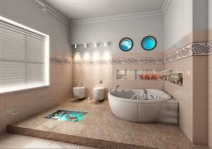 Интерьер ванной комнаты (3)