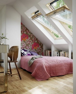 Небольшая спальня для девочки