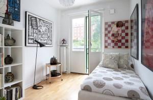 Декор в маленькой спальне