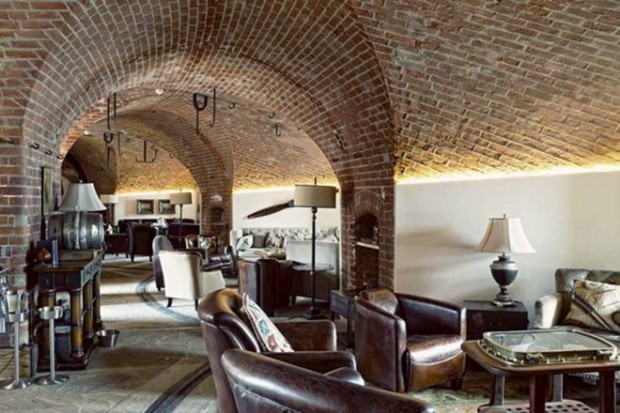 Отель в старой крепости 6