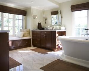 Окно в ванной комнате 28