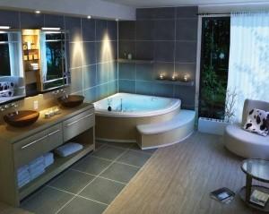 Интерьер ванной комнаты (4)