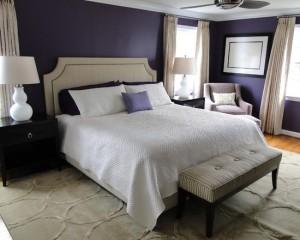 Лиловая спальня 27