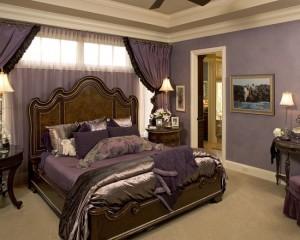 Лиловая спальня 31