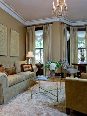 Небольшие золотые детали интерьера, которые помогают заиграть комнате новыми красками
