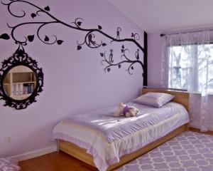 Лиловая спальня 34