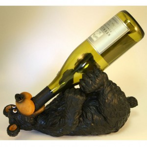 Игрушка для хранения винных бутылок