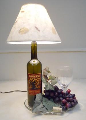 Основа лампы из бутылки