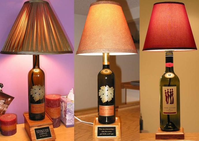 Как сделать светильник из бутылки своими руками 4 класс