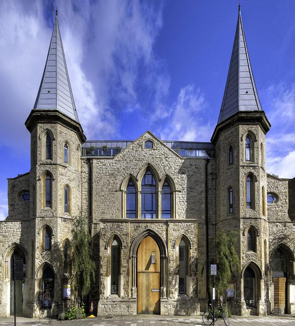 Лофт в викторианской церкви 1