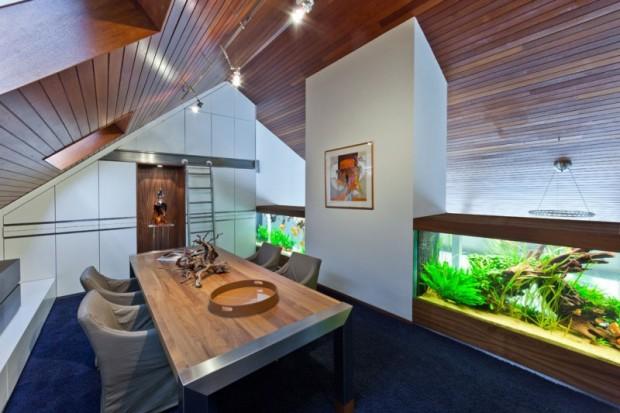 Дом с аквариумом 10