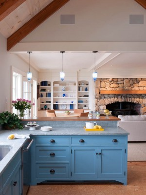 Изящно оформленная кухня в скандинавском стиле