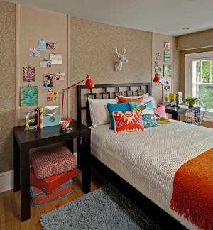 Комната для девочки в урбанистическом стиле