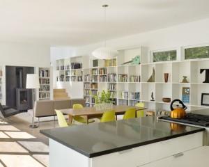 Мелкие яркие детали на современной кухне