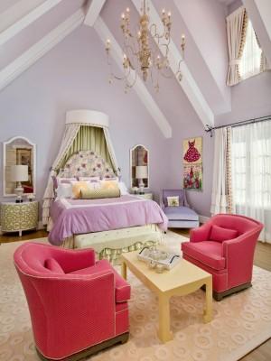 Роскошная спальня в стиле Прованс