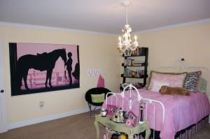 Спальная комната для маленькой девочки