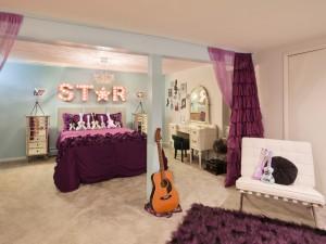 Rock Star комната юной бунтарки