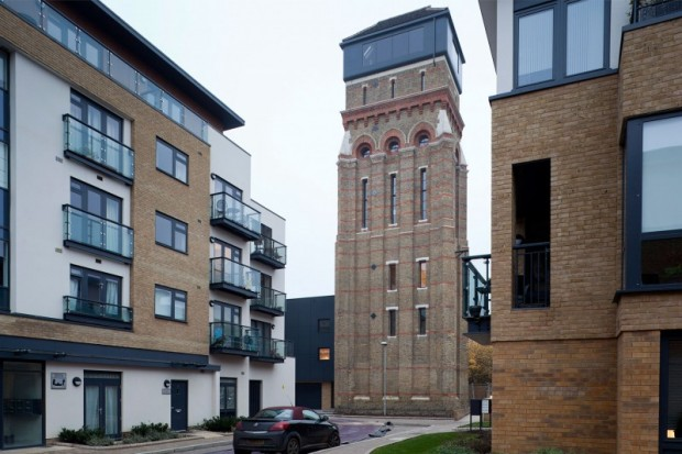 Лофт в водонапорной башне