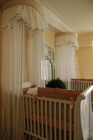 Две детских кроватки в одной комнате