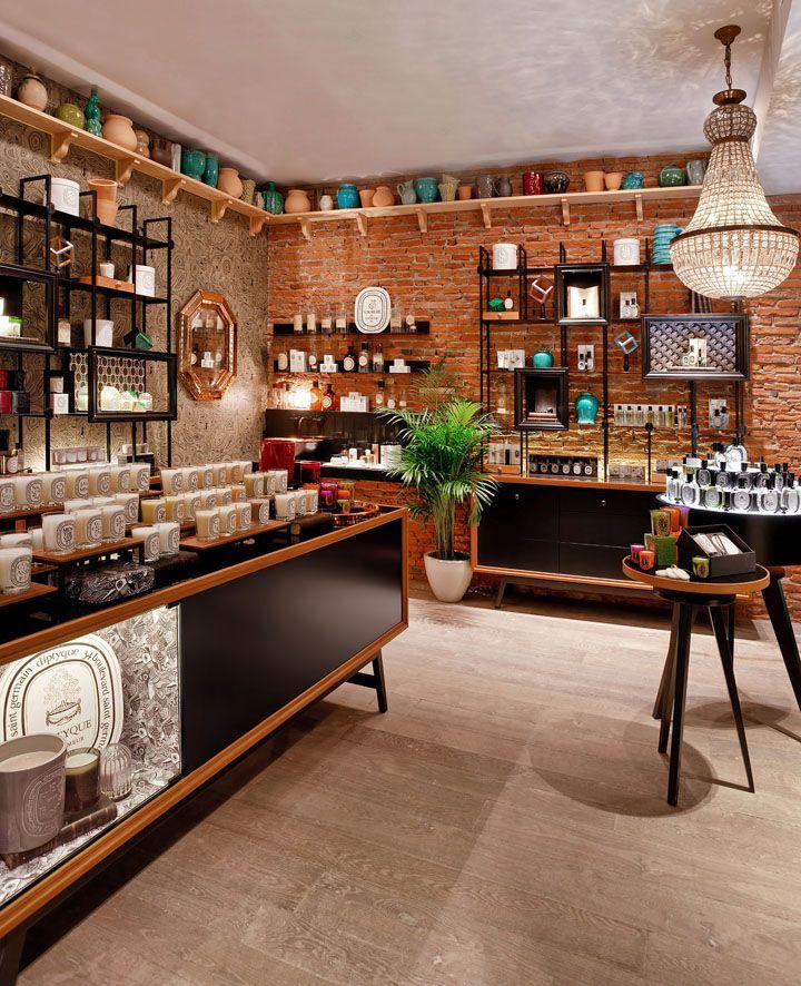Интерьер парфюмерного магазина