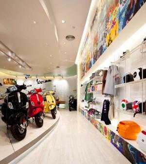 Фирменный магазин скутеров Vespa