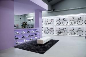 Интерьер вело-магазина