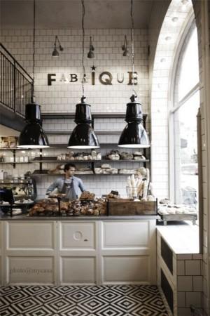 Интерьер Французской пекарни