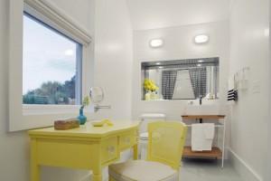 Ярко желтый будуар