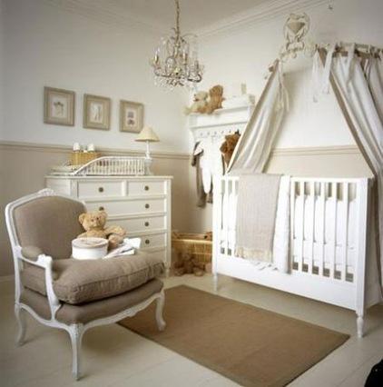 Комната для новорожденного во Французском стиле