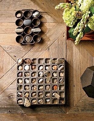 Декоративный набор морских камней