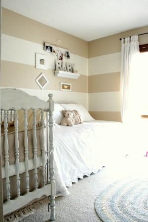 Оформленная спальня для ребенка и его родителей