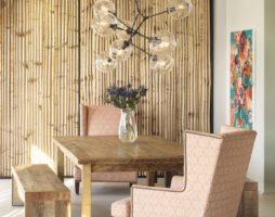 Как применить бамбук в интерьере