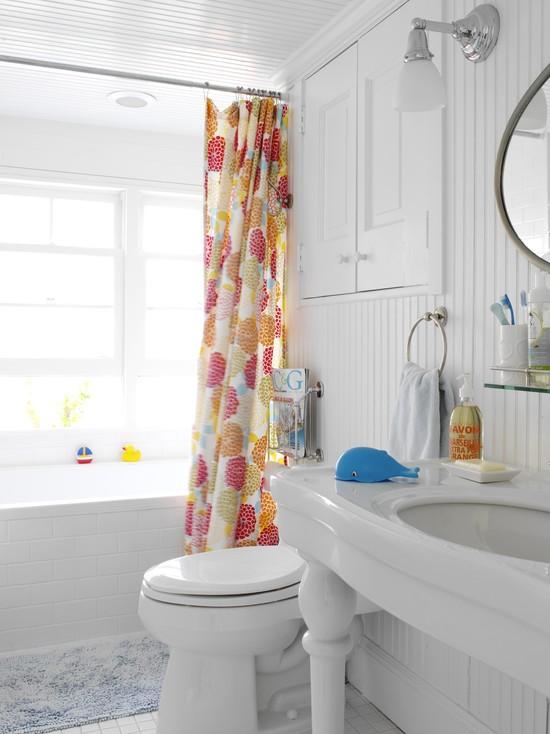 Штора для ванной фото в интерьере