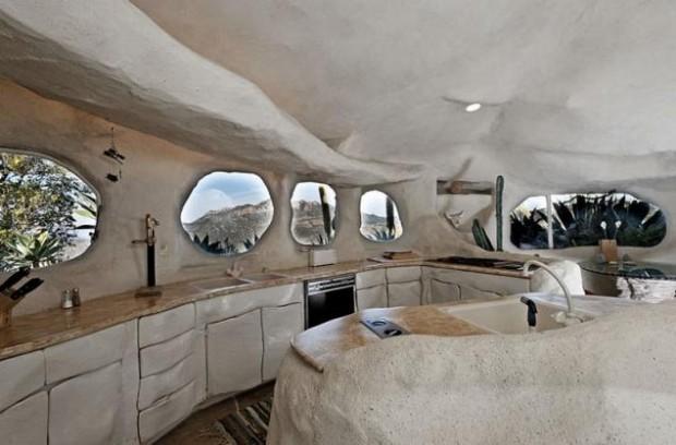 Дом-пещера в Малибу 12