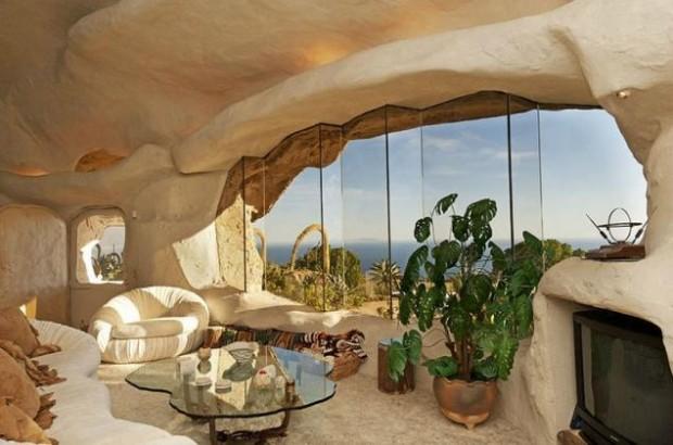 Дом-пещера в Малибу 3