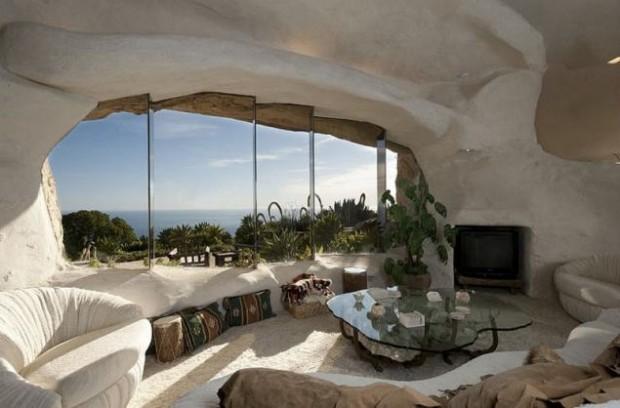 Дом-пещера в Малибу 4