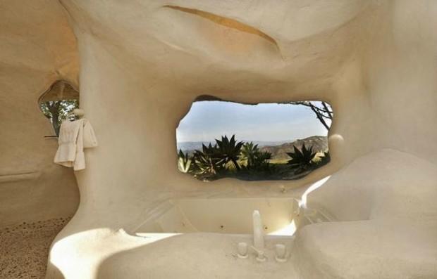 Дом-пещера в Малибу 8