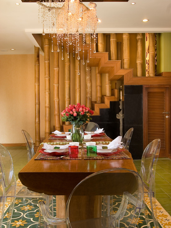 Бамбуковые перила