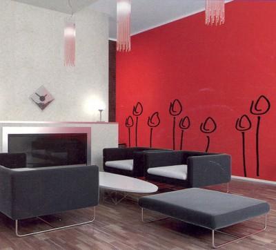 55 - Pintar un salon en dos colores ...