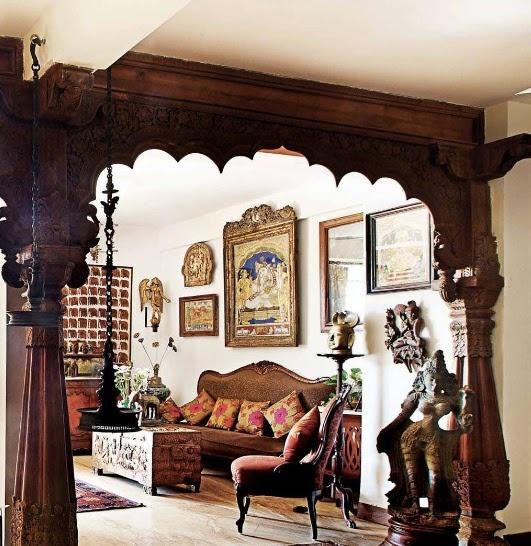 Предметы декора для индийской комнаты