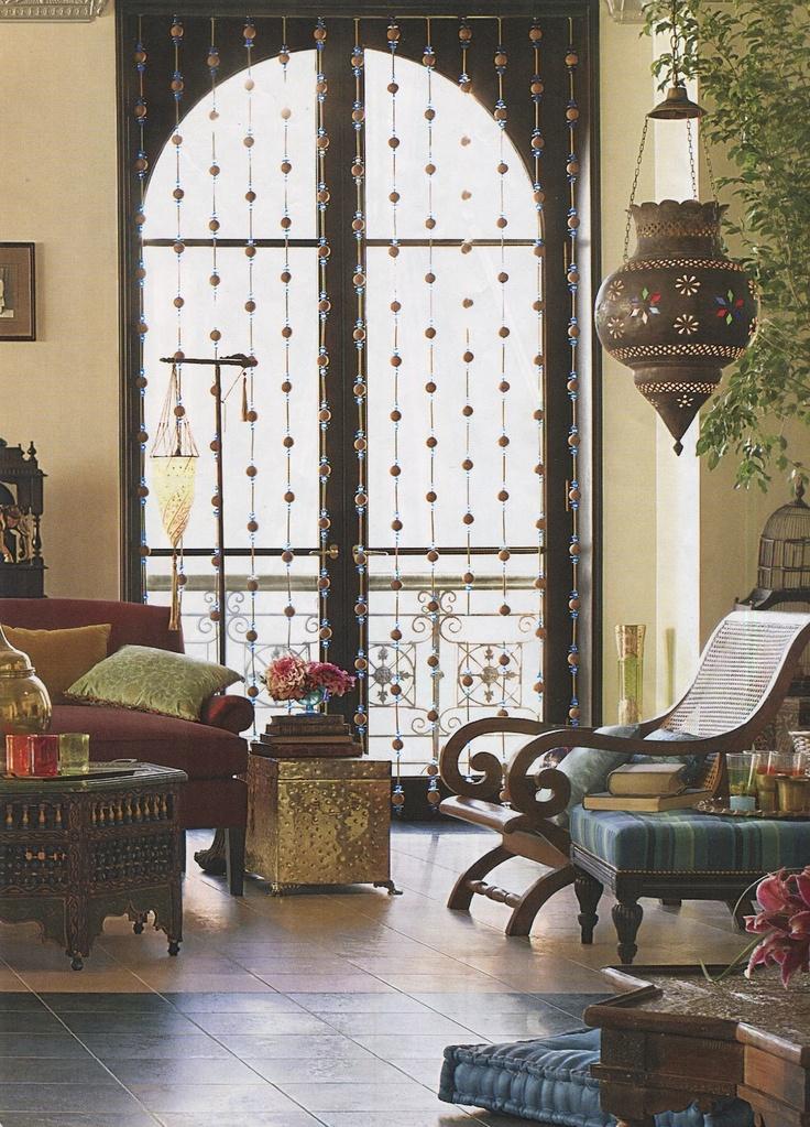 Классическая гостиная в индийском стиле